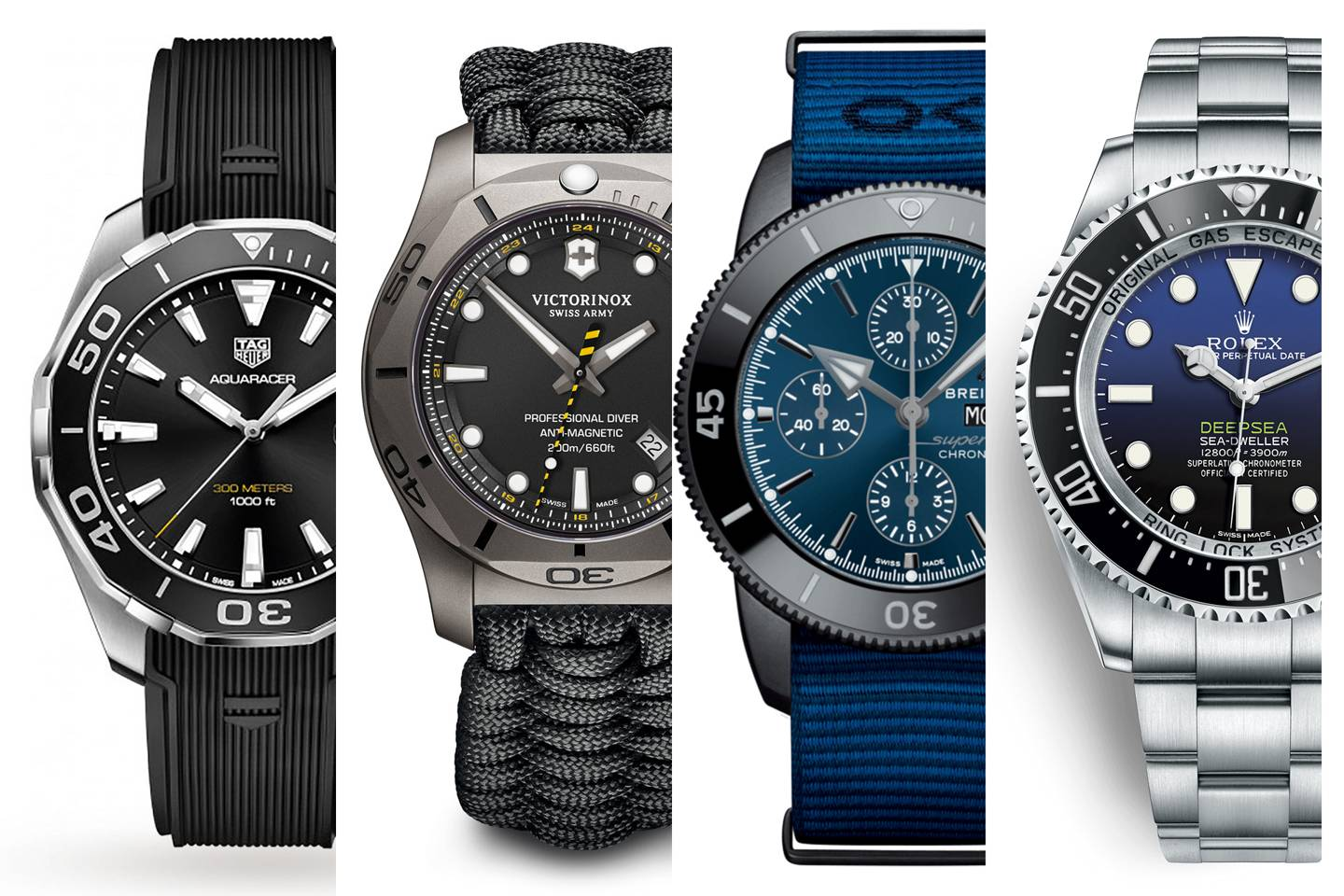 Best Men's Dive Watches For Taking A Plunge