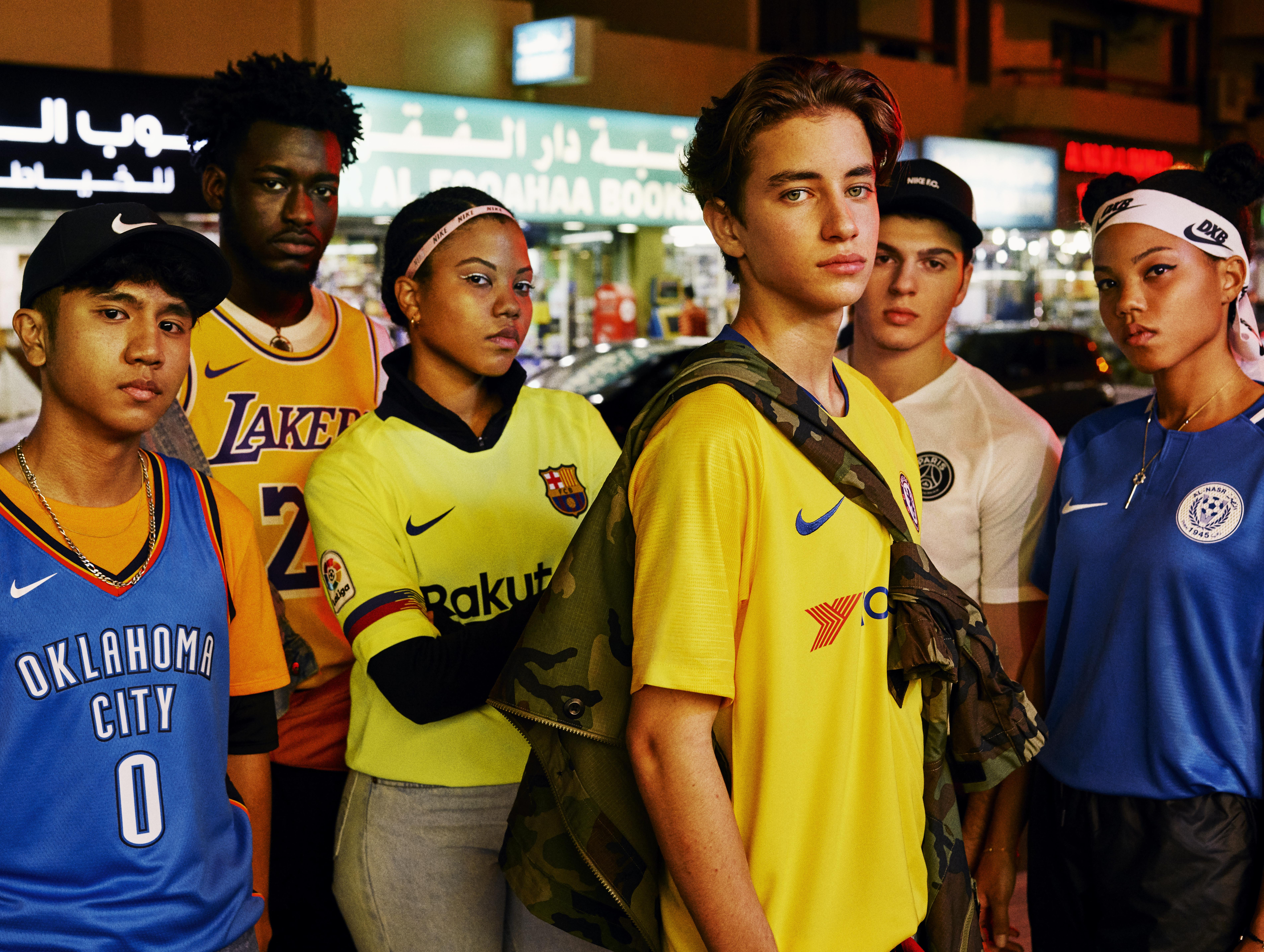 en general Cortés Alivio  Nike Launches 'We Play DXB' To Tell Inspiring Stories of Local Athletes