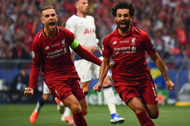 Mohamed Salah And The Liverpool Squad Return For Training