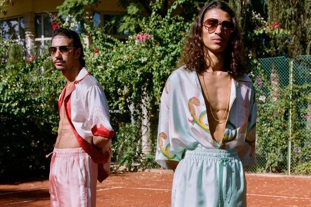 Inside Casablanca, The French-Moroccan Menswear Brand Up For The LVMH Prize