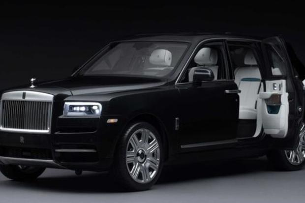 A Toy Cullinan SUV Designed By Rolls-Royce Just Sold For $17k USD