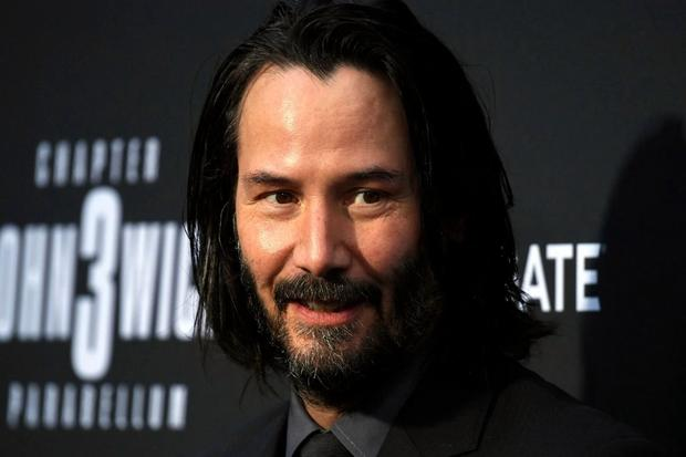Top Bloke Keanu Reeves Is Auctioning A One-To-One Zoom Call For Charity