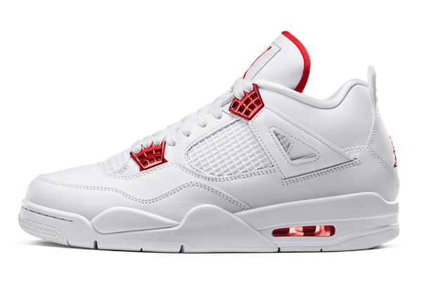 Nike Is Giving The Og Air Jordan 4 A Shiny Makeover