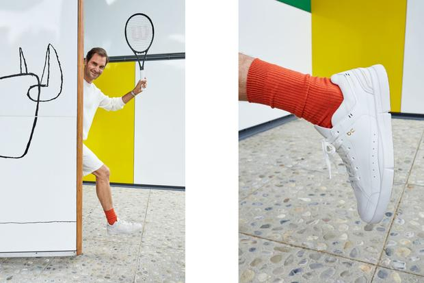 Roger Federer's Ultra-Clean Signature Sneakers Are Here
