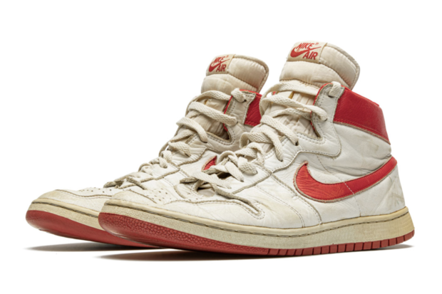 Christie's and Stadium Good Will Auction Jordan Sneakers Expected To Fetch $550k