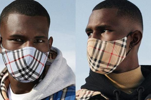 Burberry Are The Latest Luxury Fashion House To Release Face Masks
