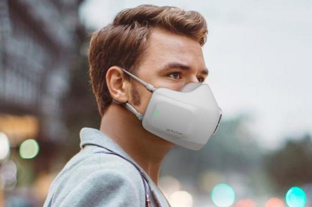 LG Has Created A Fask Mask That Doubles As A Battery-Powered Air Purifier