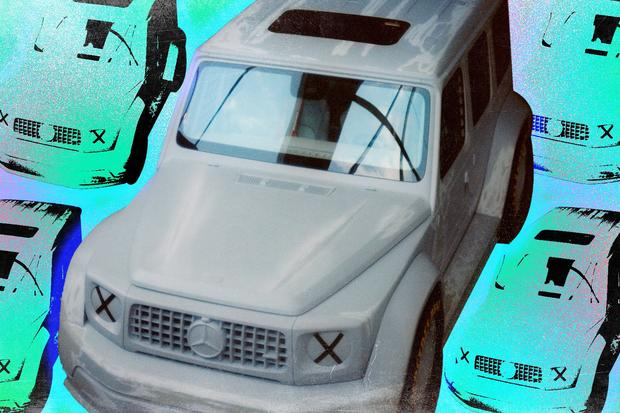 Virgil Abloh Helped Create a Crazy G-Wagen Concept