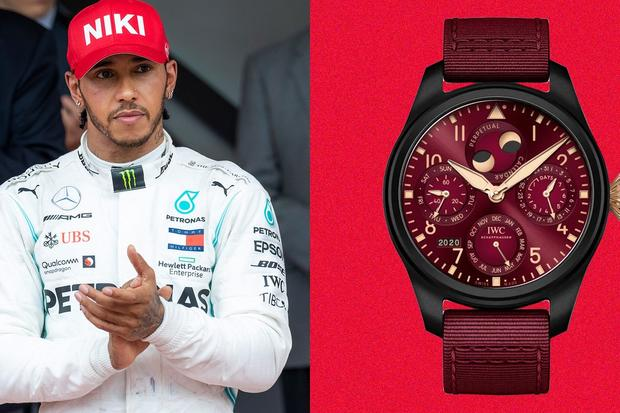 Lewis Hamilton's Iwc Schaffhausen Is Giving Us Watch Envy (Again)
