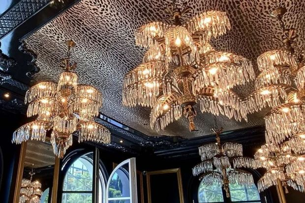 See Inside Philipp Plein's $280M Mansion, Complete With Leopard Print Ceilings