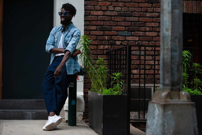 The Fittest Street Style From New York Fashion Week Spring Summer 2020 Gq Middle East