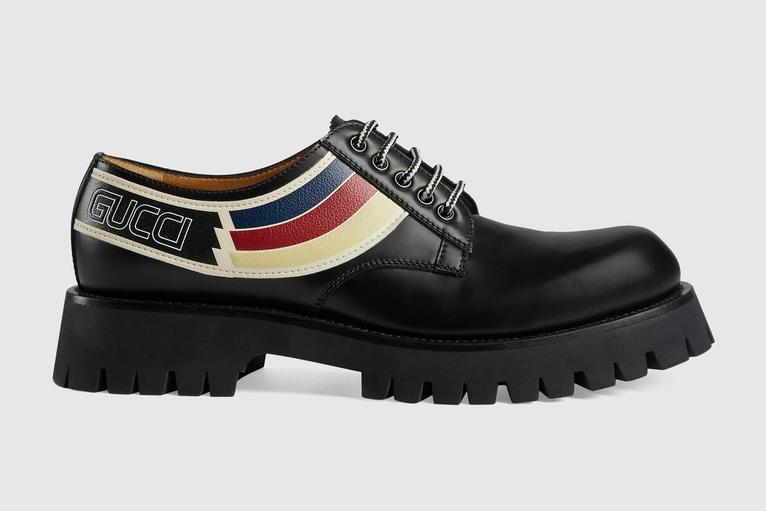 Big, Bad, Chunky Derby Shoes For Men