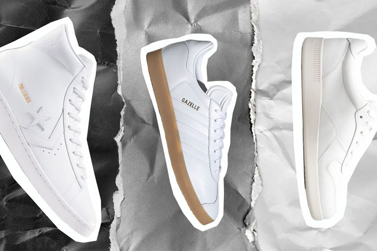 best cheap white shoes