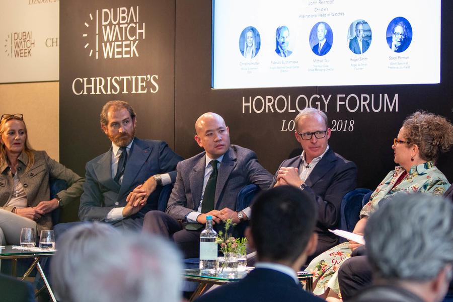 Dubai Watch Week Wraps Up Its 4th Horology Forum In London