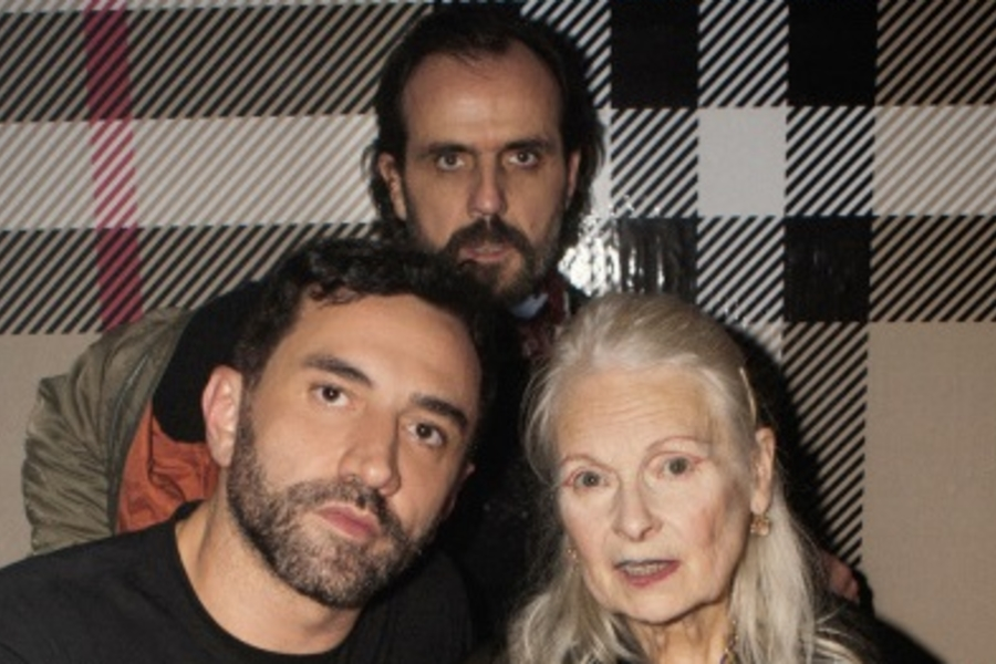 Stars Come Out For Vivienne Westwood & Burberry Party