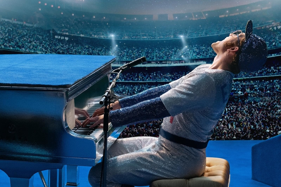 The First Trailer For The Elton John Biopic Promises To Give BoRap A Run For Its Money