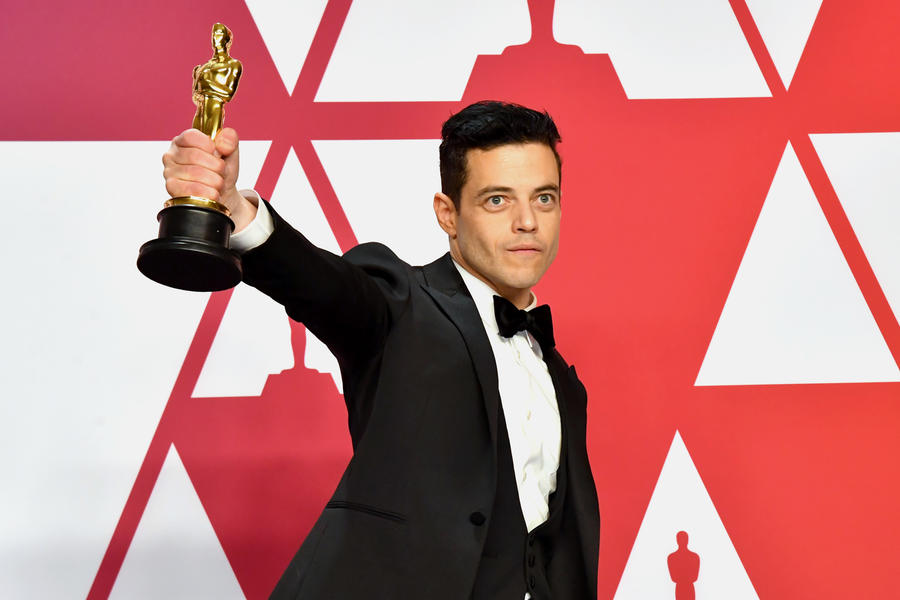 Rami Malek Is On Top Of The World