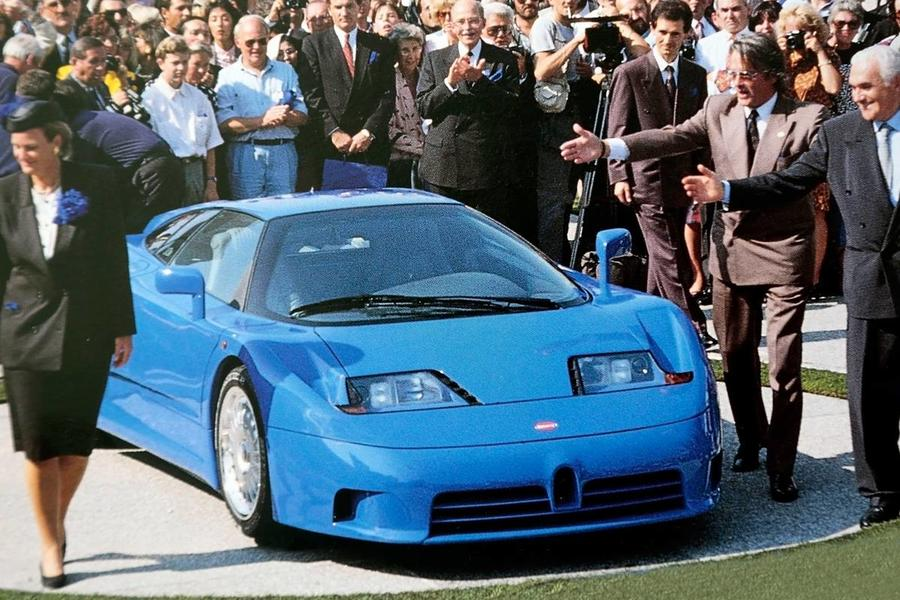 The Bugatti EB110 Is The Nineties Hypercar Time Forgot