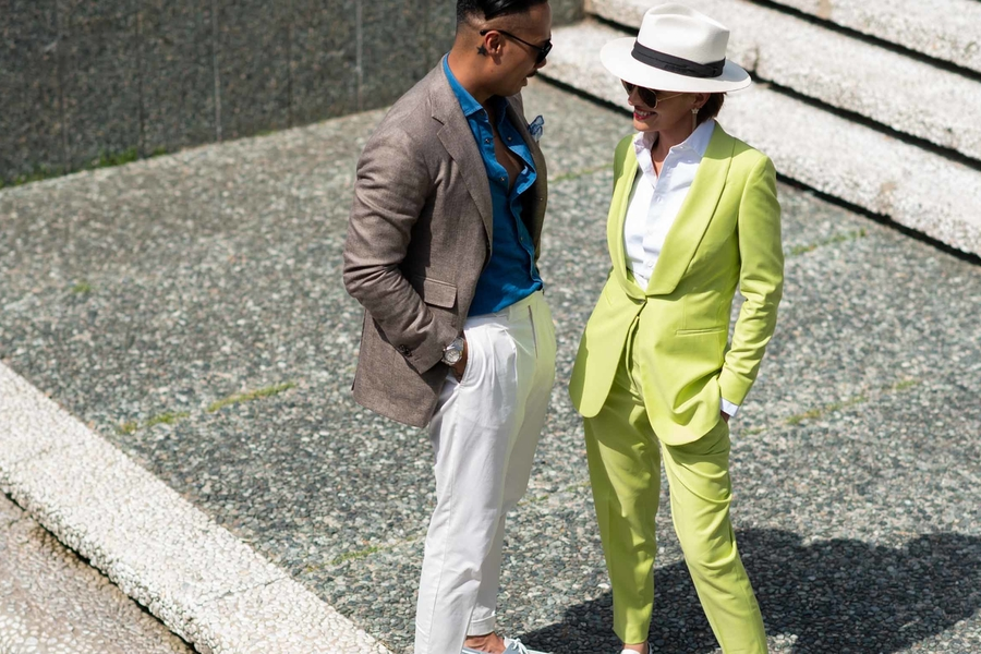 The Best Street Style At Pitti Uomo Day 1