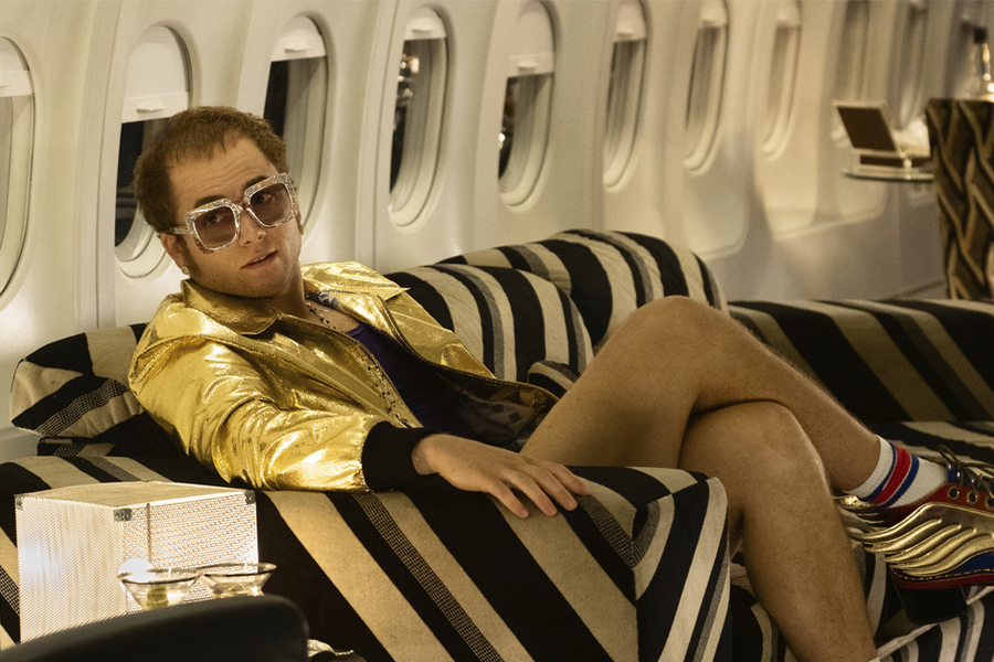 This Is How They Turned Up Elton John's Style Game For Rocketman