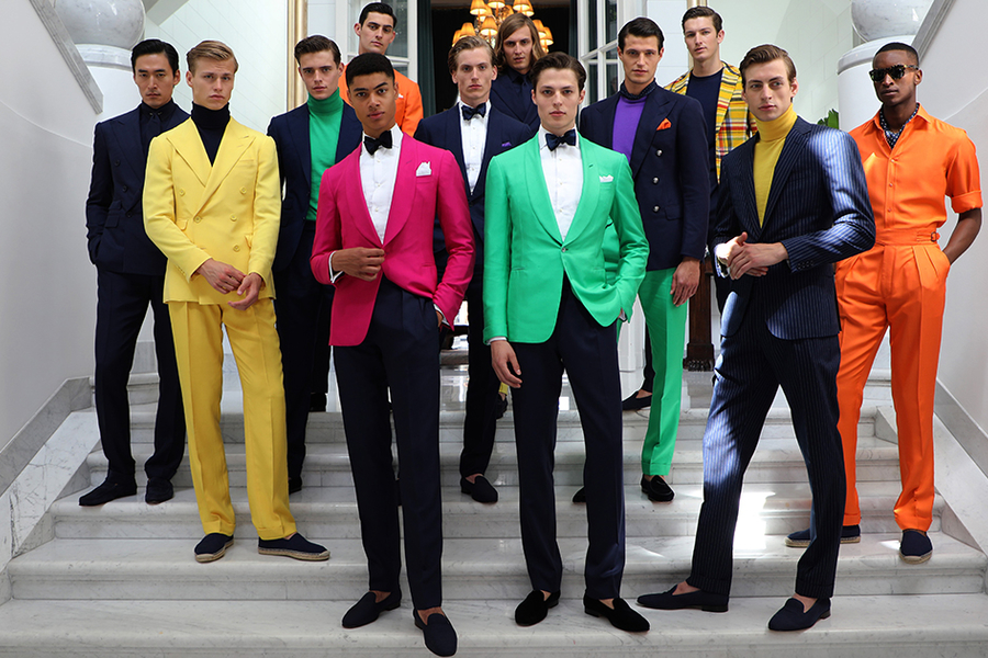 Ralph Lauren Purple Label Pops Of Colour For Spring/Summer 2020