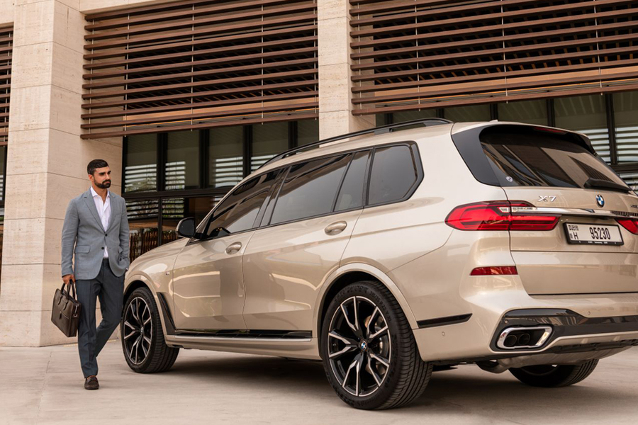 The BMW X7 Is Big And Beautiful