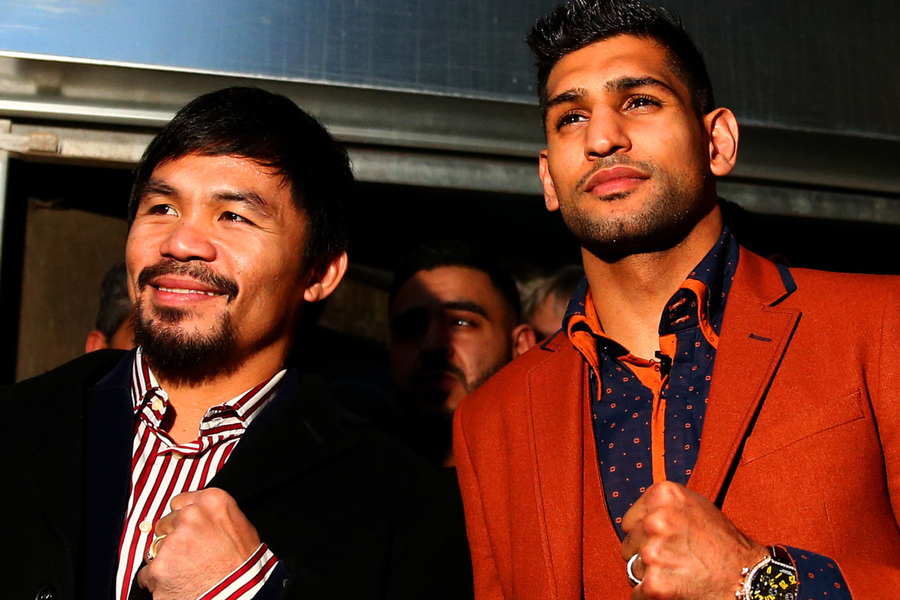 Amir Khan Vs. Manny Pacquiao In Saudi Arabia Is On… Then Back Off Again