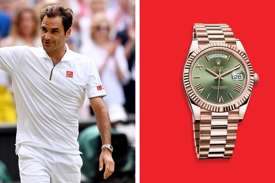 Roger Federer, Novak Djokovic, and Prince William Turn Wimbledon Into a Watch Exhibit