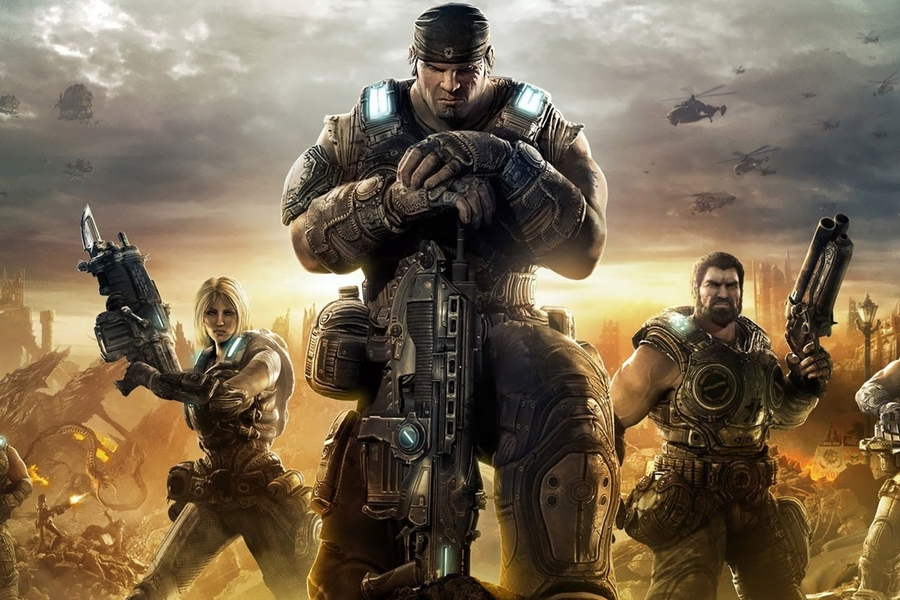 Listen To Dave Bautista: Gears Of War Could Be A Video Game Adaptation That Actually Works