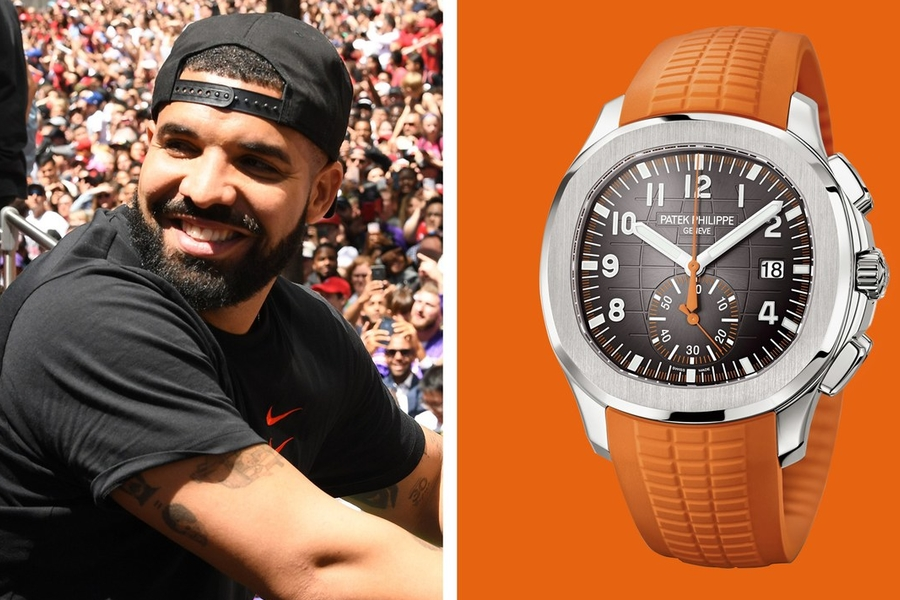 Drake's New Watch: Not NC-17, Just A+