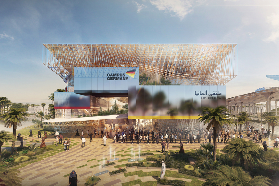 Here's What's Coming To German Pavilion At Expo 2020
