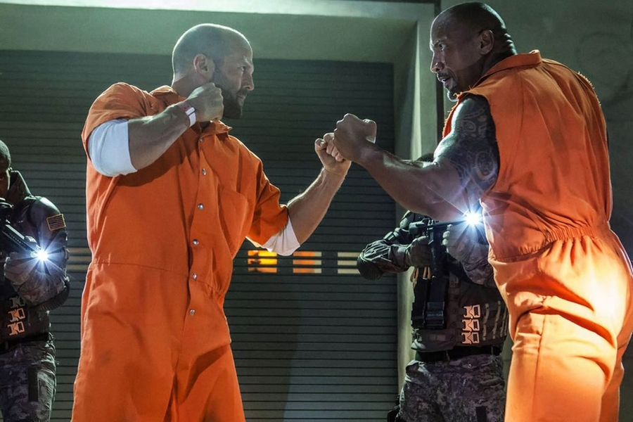 Jason Statham And The Rock Have Contracts That Stipulate They Can't Lose In Fight Scenes