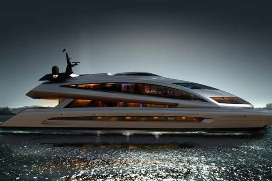 After More Than A Decade, Porsche Design's Superyacht Has Finally Hit The Water