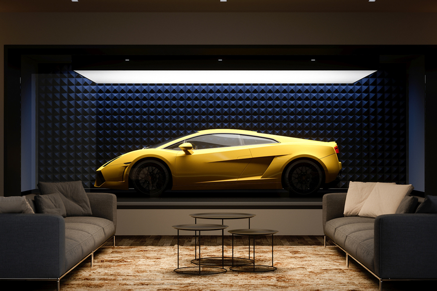 It's Officially Time To Park Your Supercar In The Living Room