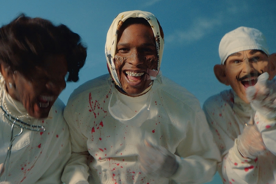 A$AP Rocky Returns With New Video, Makes A Case To Be This Year's MVP