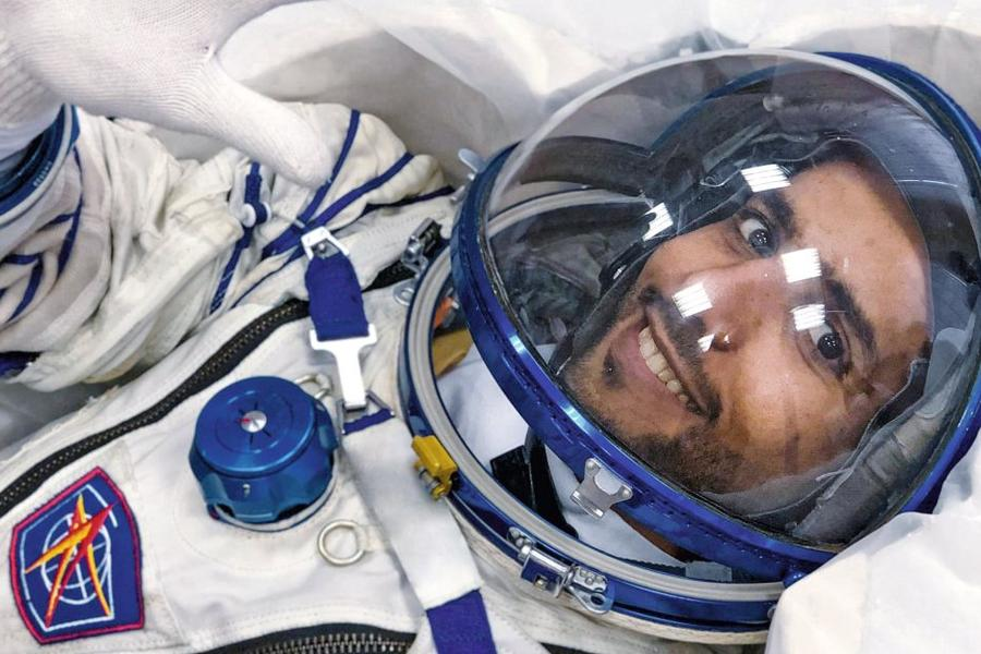 First Emirati Astronaut Hazza Al Mansouri Blasts Off Into Space Today... Here's What He Can Expect