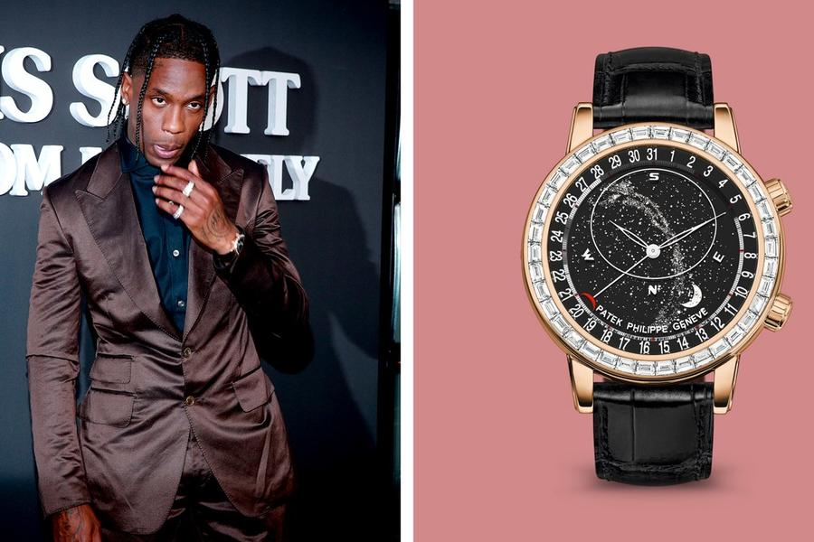 Travis Scott Wears a $400,000 Patek Philippe
