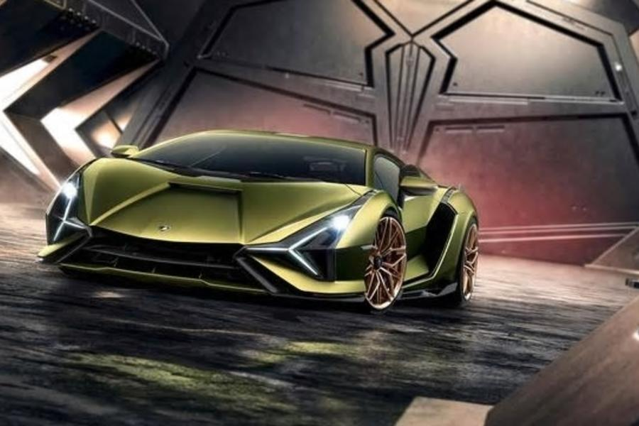 Say Hello To Lamborghini's First Hybrid Supercar