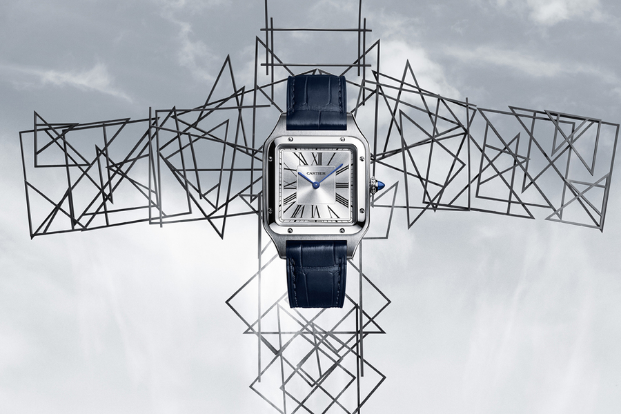 Cartier's Santos-Dumont Watch Is Fit For High Flyers