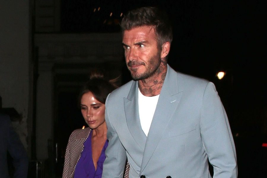 David Beckham Gives You a Masterclass in Relaxed Suiting
