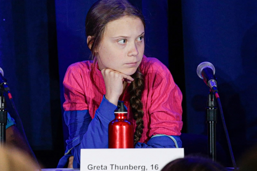 Greta Thunberg Challenges Leaders At U.N. Climate Session And Files Climate Complaint