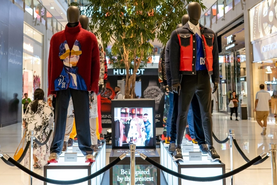 Welcome To The Dubai Mall X GQ Fashion Island