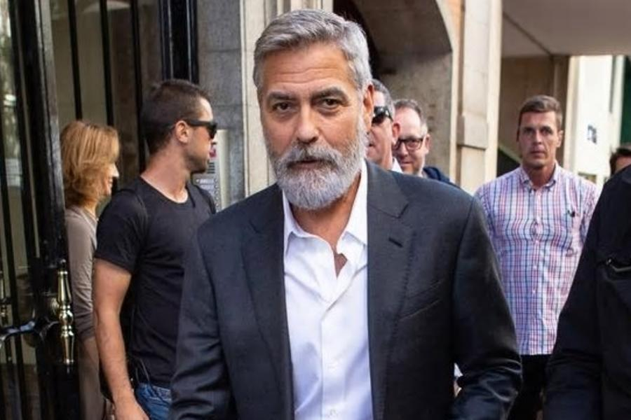 The Hair Evolution Of George Clooney