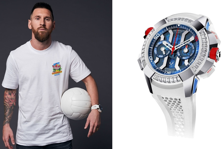 Lionel Messi Wears A Watch Named After Lionel Messi