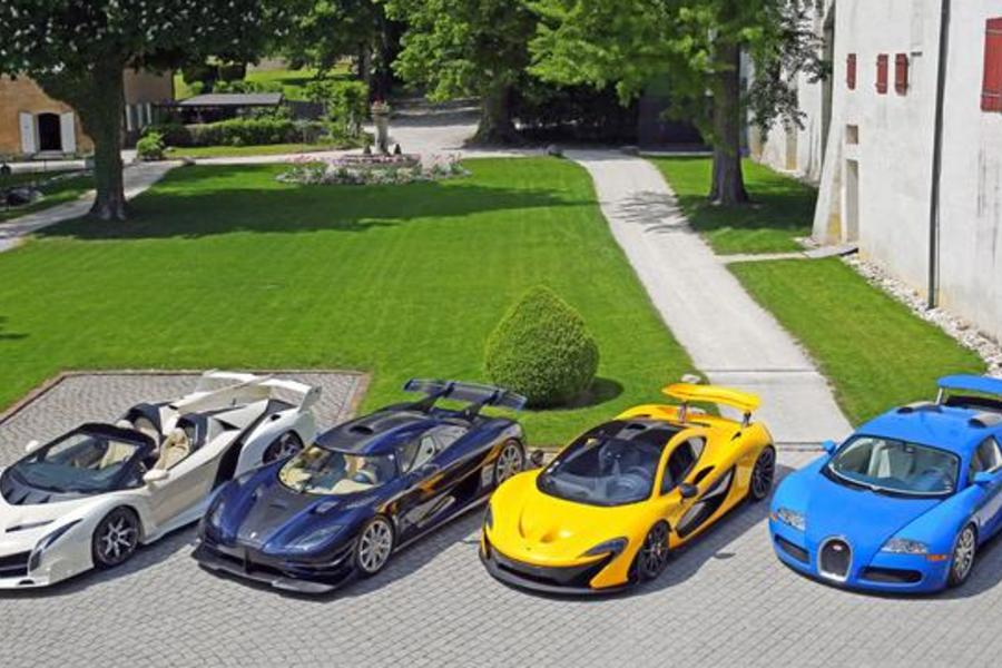 An African Prince's Confiscated Hypercar Collection Just Auctioned For $40 Million