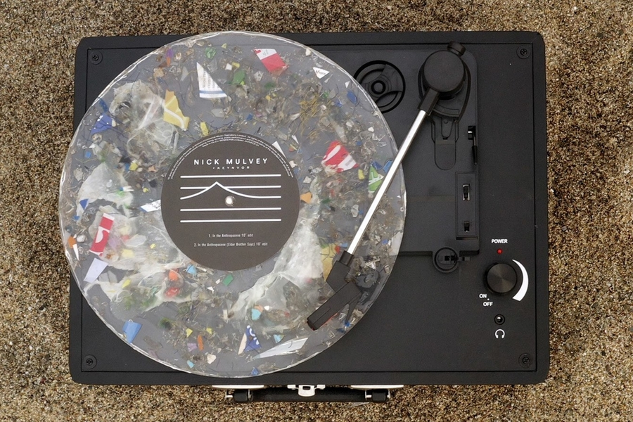 First Ever Playable Vinyl Made From Single-use Plastic Helps To Give The Ocean A Voice
