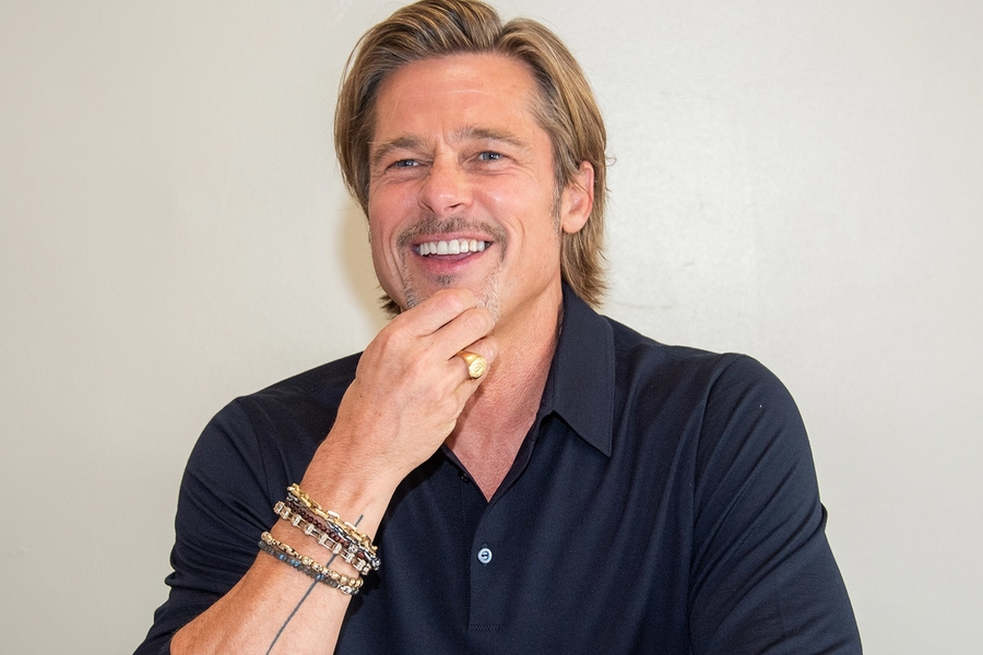 Brad Pitt's Watch Brand Of Choice? Breitling, Natch