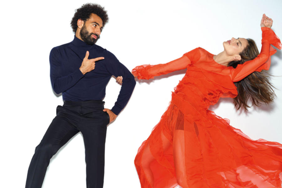 Alessandra Ambrosio And Mo Salah Share The GQ Men Of The Year Cover