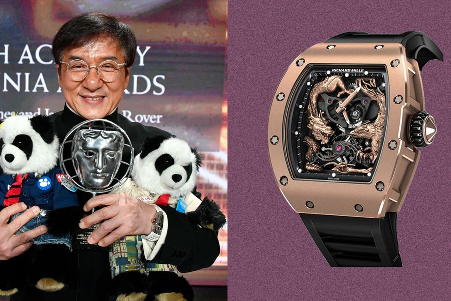 When You're Jackie Chan, You Wear Watches Named After Yourself