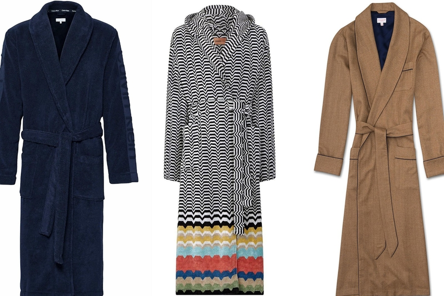 Best Men's Dressing Gowns To Elevate Your Duvet Days